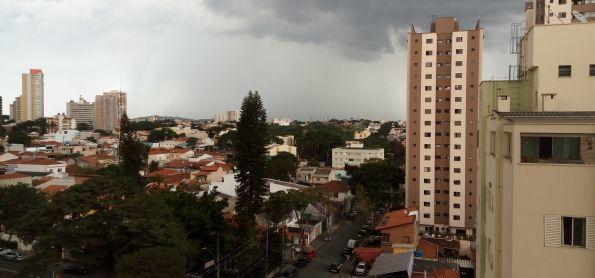 Chuva em Santo André - SP