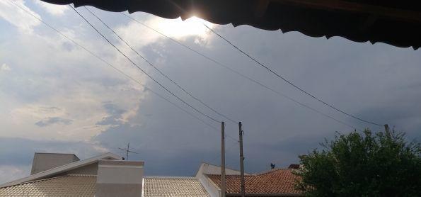 Chuva chegando em Sumaré