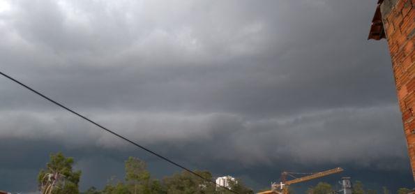 Tempestade em Votorantim SP