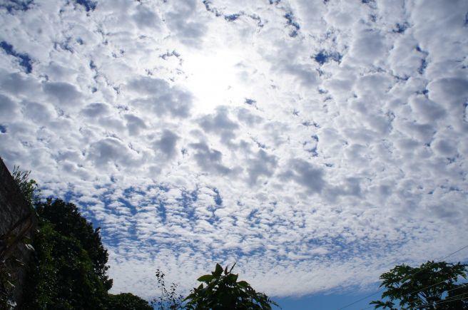 O céu hoje em Cruz Alta !!!