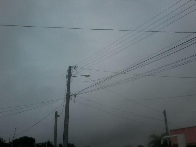 Dia nublado com muita chuva em Parnamirim(GRANDE NATAL)