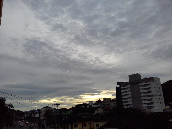 O frio tá chegando no sul do Brasil