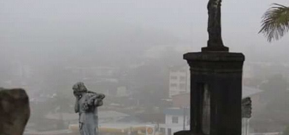 Nevoeiro em joinville sc