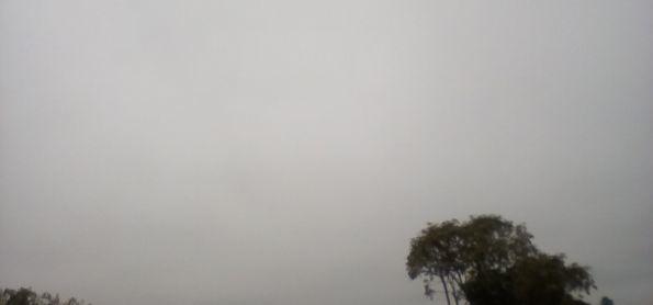 Frio e neblina no PR