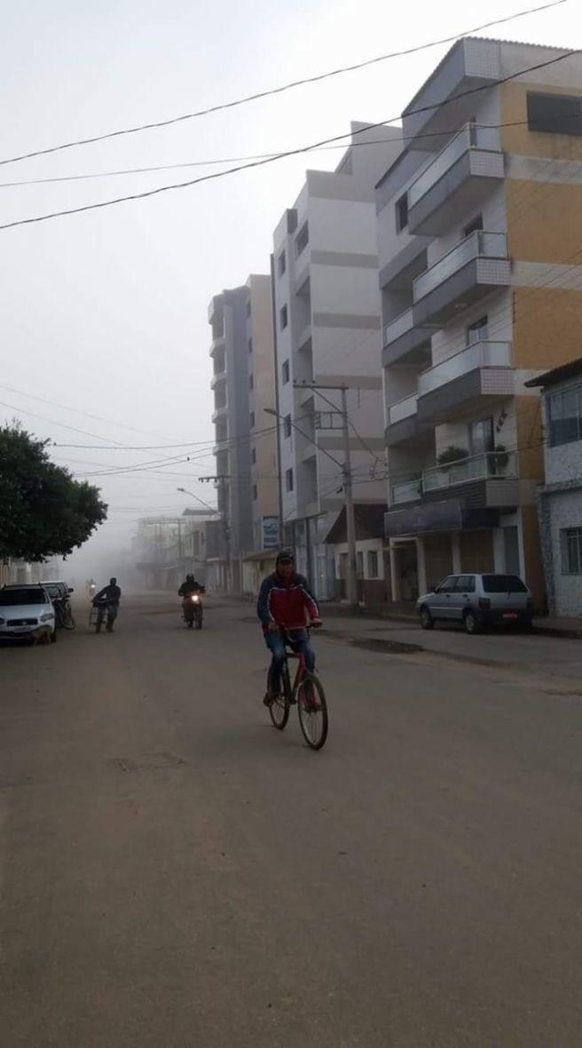 AMANHECER GELADO EM VARGEM ALEGRE (VALE DO RIO DOCE/MG)