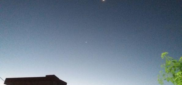 Céu limpo em Barra da Estiva - BA