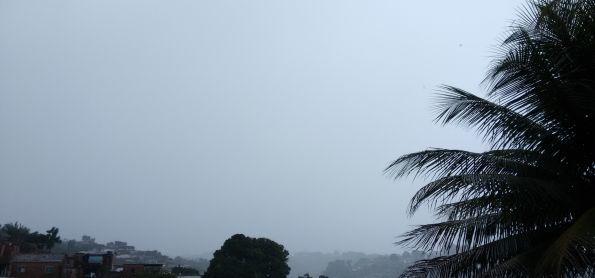 Dia instável no litoral de Pernambuco