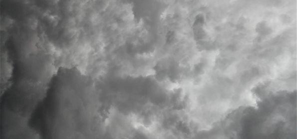 Começo de tarde nublado em Araxá-MG