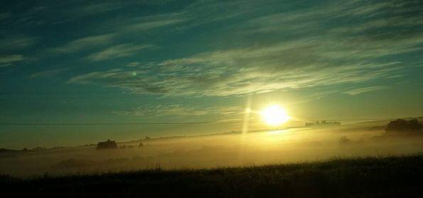 Sábado muito frio no Rio Grande do Sul !