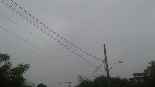 Manhã chuvosa