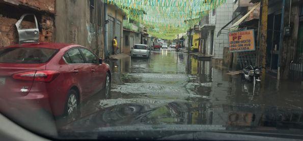 Chuva rápida