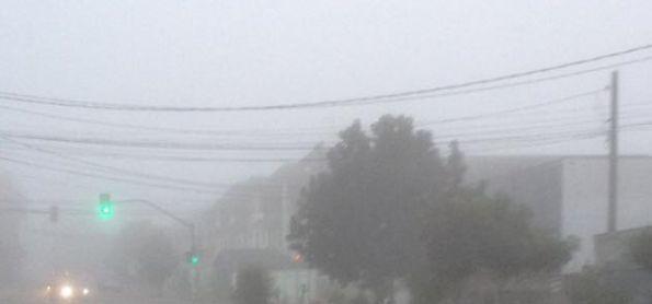 Frio e nevoeiro em Curitiba PR [1°C]