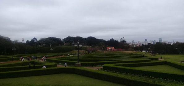 Tarde fria em Curitiba PR