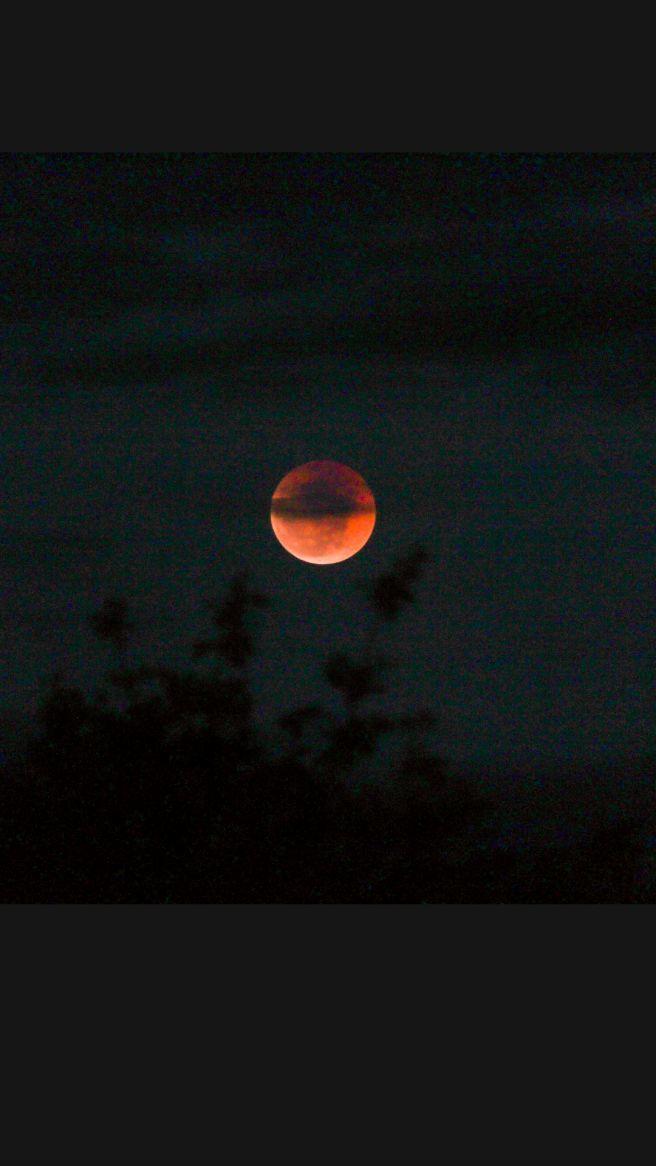 Eclipse Lunar em São José da Lagoa Tapada-PB