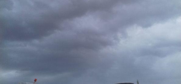 Pancadas de chuva en Xique-Xique-BA