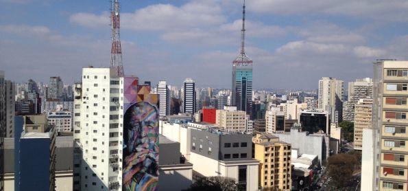 Tarde de inverno em São Paulo