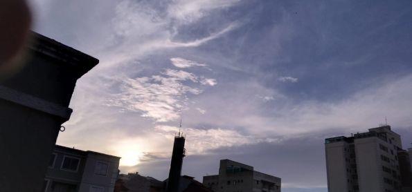 fim de tarde em MAUA - SP