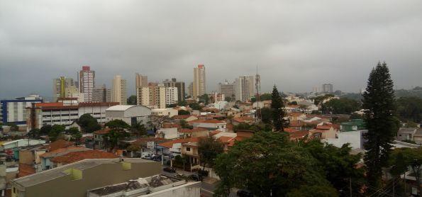 Dia nublado e friozinho em Santo André - SP