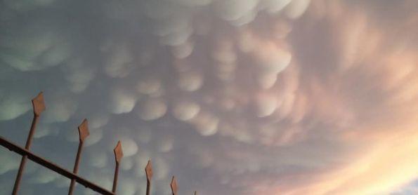 Show de nuvens(Mammatus) em Cruz Alta !!!