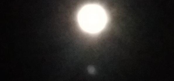 Lua cheia em Barra da Estiva  - BA