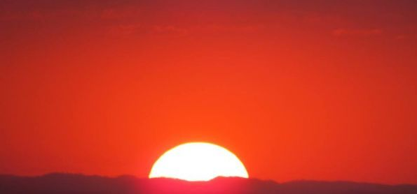 Pôr do sol do dia 23 de setembro...