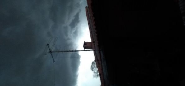 Chuva forte chegando em Itapetininga