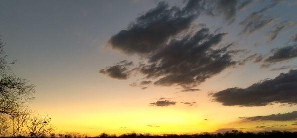 Por do sol lindo 🔥