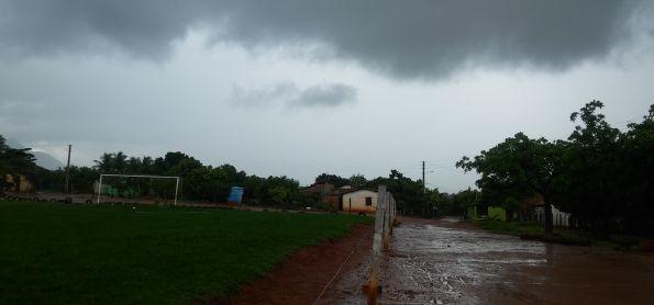 Muita chuva em LIVRAMENTO-BA e região