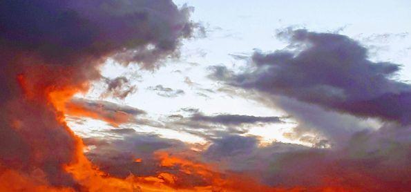 Montes Claros pô do sol.