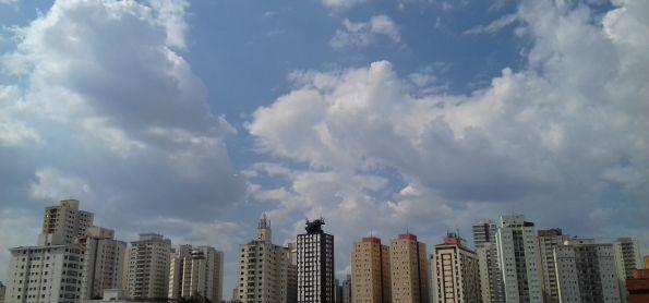 Dia de muito calor em São Paulo!