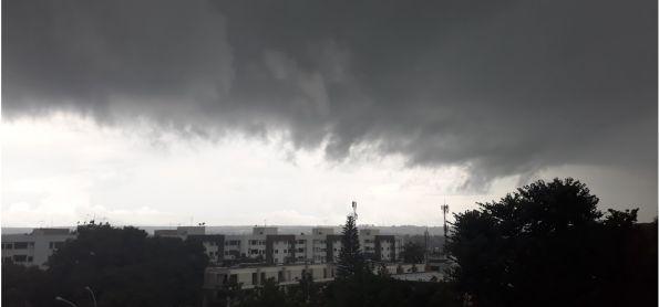 Sábado de tempestade em Brasília
