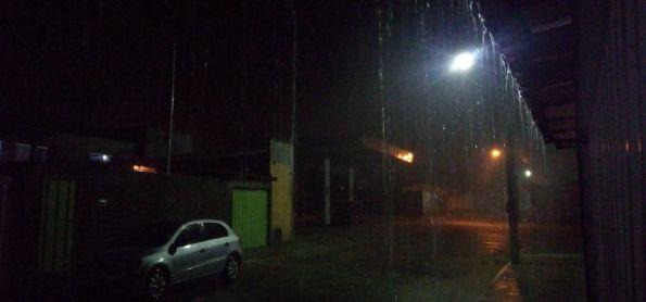 Muita chuva no norte de Minas Gerais!