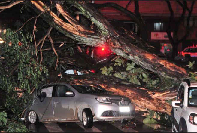 Tempestade em BH deixa 1 morto