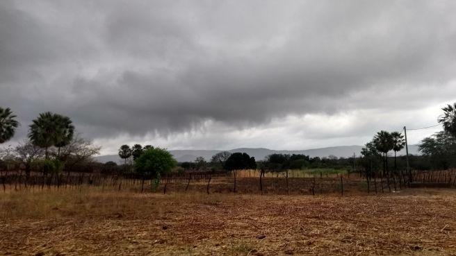 Chuva em São José da Lagoa Tapada-PB