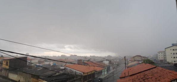 Chuva de raios em São Luis