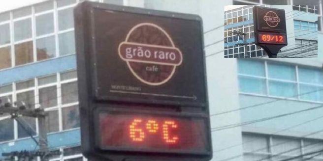 Nova Friburgo-RJ pode ter tido frio histórico neste domingo