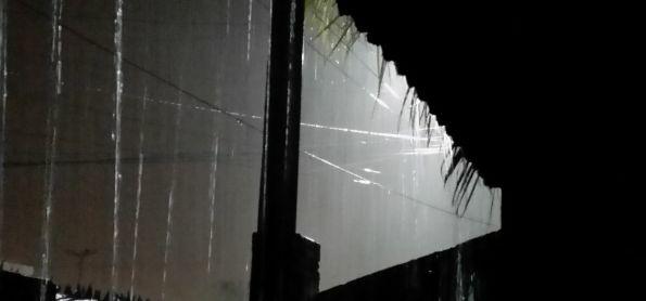 Noite chuvosa em Natal-RN