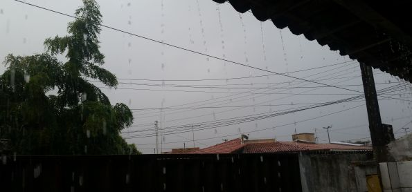 Muita chuva em Natal/RN