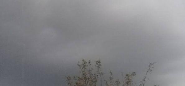 Chuva e trovões em Iguatu