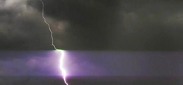 Chuva chegando em São João de Meriti