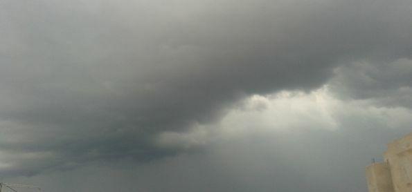 chuva chegando na Região oeste da grande SP