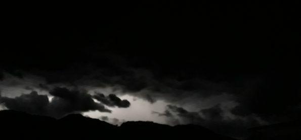 Tempestade se aproximando em Luiz Alves SC