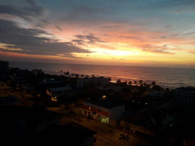 foto do nascer do sol