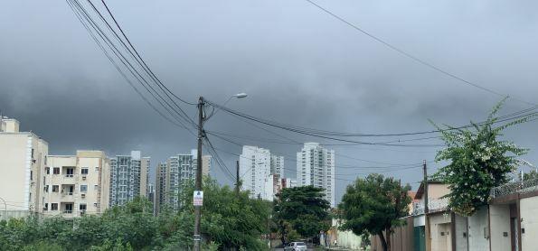 105 milímetros de chuva em Fortaleza (CE)