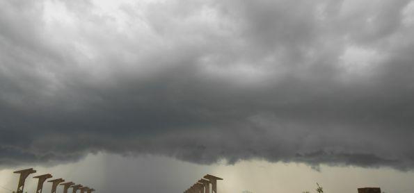 Chuva chegando em Santa Maria-RS