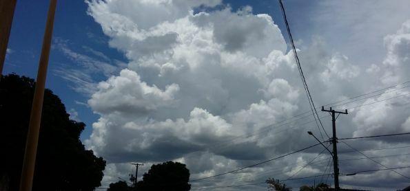 Grande formação de Nuvens