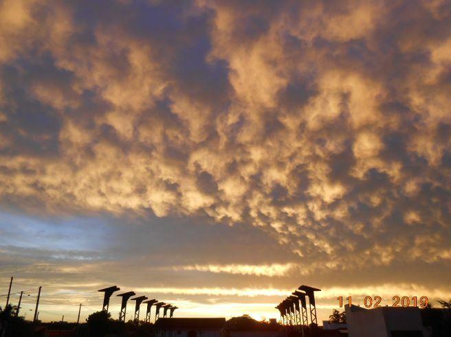 Depois do temporal, Natureza dá espetáculo aqui em Santa Maria