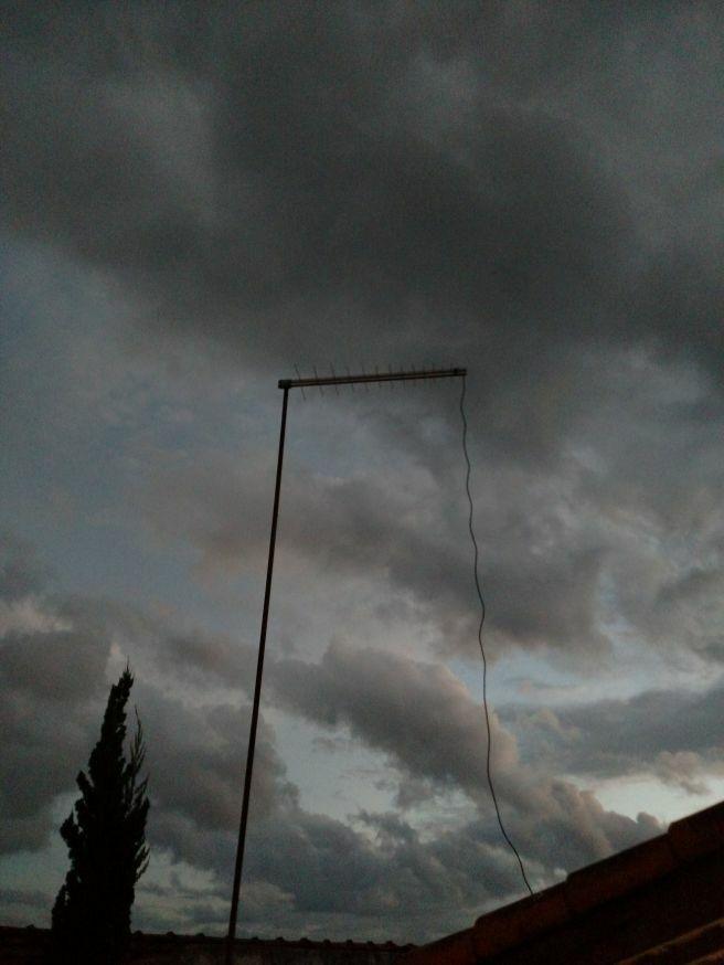 Nuvens escuras em Tatuí.