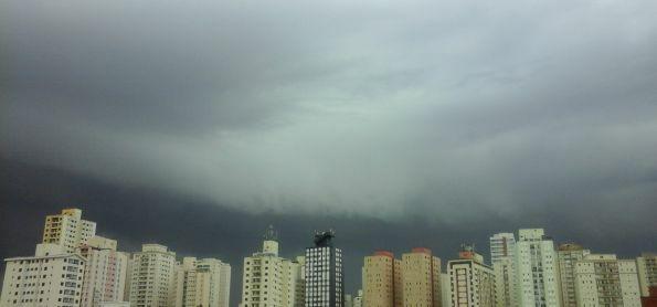 Chuva forte em São Paulo!