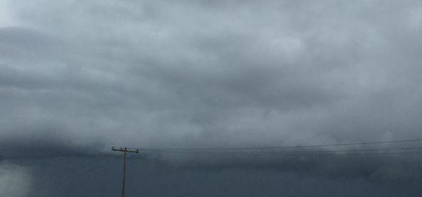 Fortes pancadas de chuva na Bahia